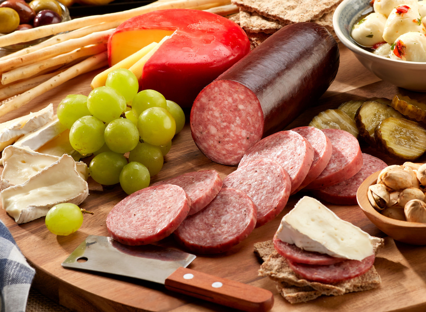 how to cook summer sausage